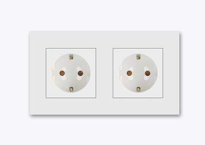 2gang socket outlet