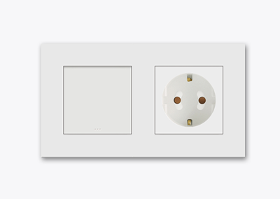 Switch socket outlet